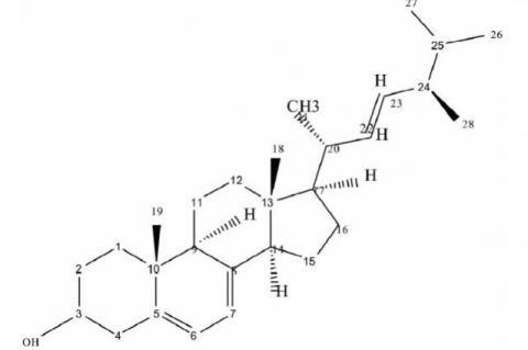Ergosterol structure